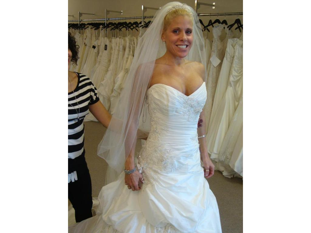 Maggie sottero prestyn 800 size 8 new un altered for Maggie sottero wedding dress sale