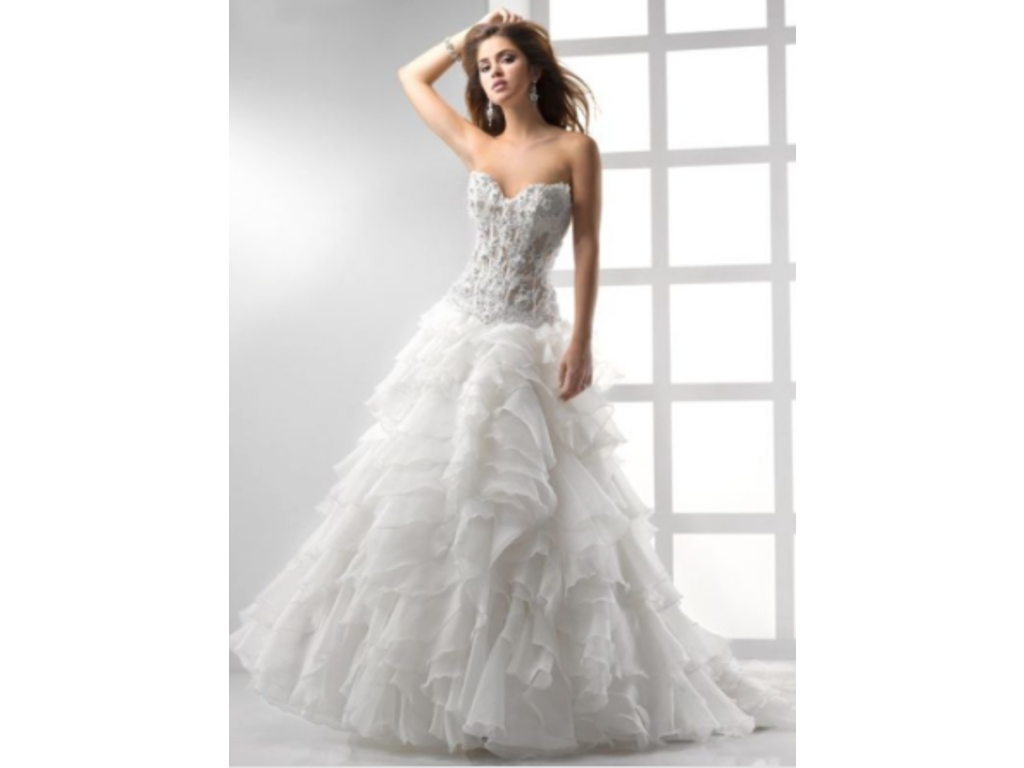 Preowned Wedding Dresses Dallas : Maggie sottero wedding dress currently for sale at off retail