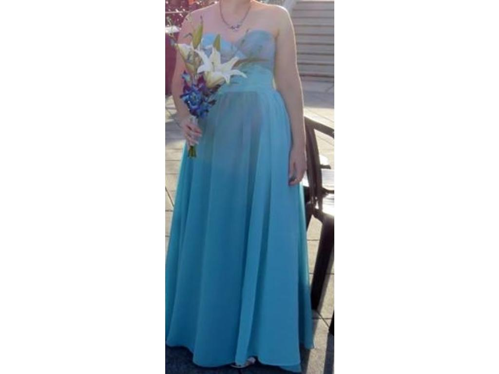 Alfred angelo 7376l size 4 bridesmaid dresses for Wedding dresses reading pa