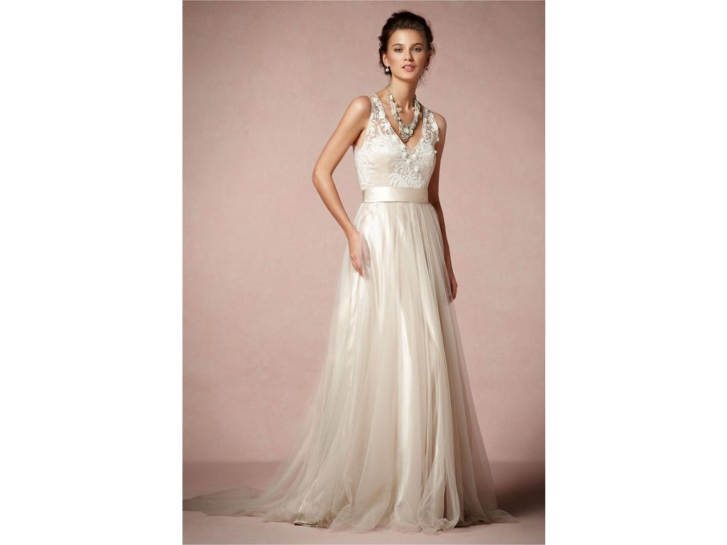 BHLDN Catherine Dean / Onyx Gown, $700 Size: 2 | Used Wedding Dresses