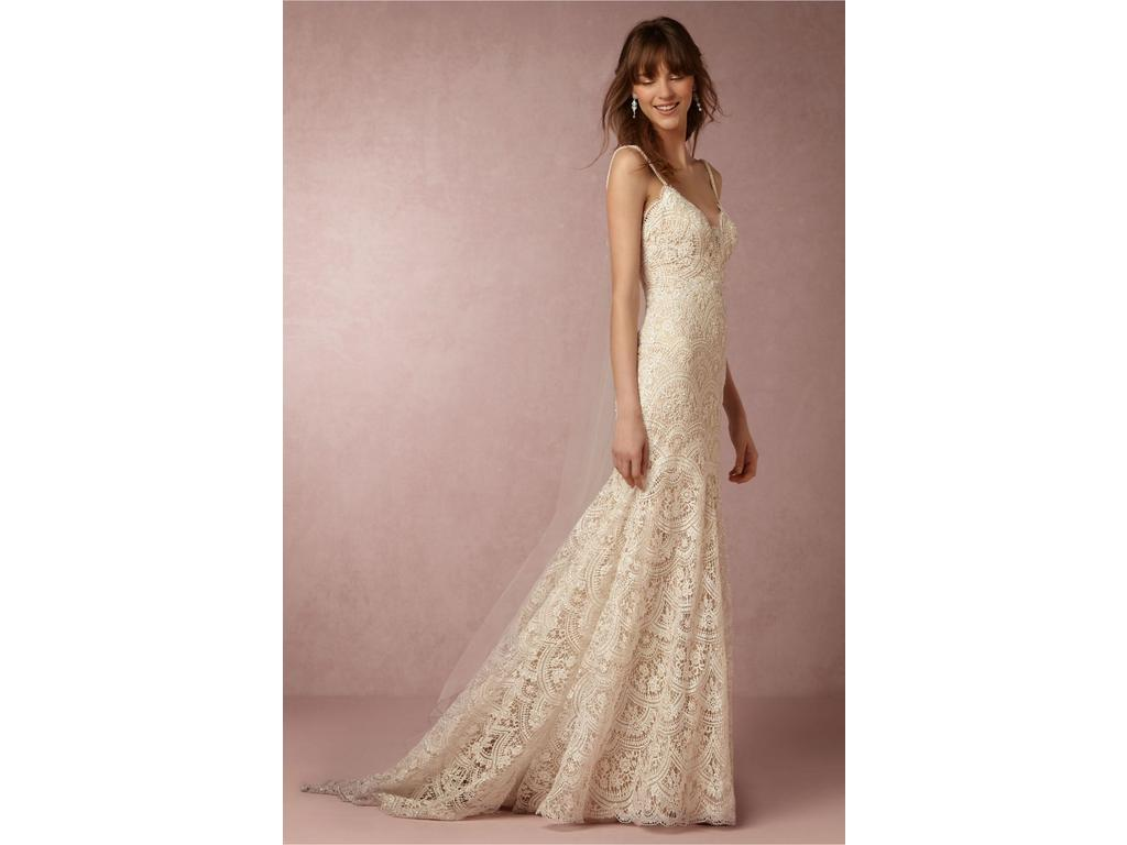 Bhldn elise 900 size 4 used wedding dresses for Pre owned wedding dresses