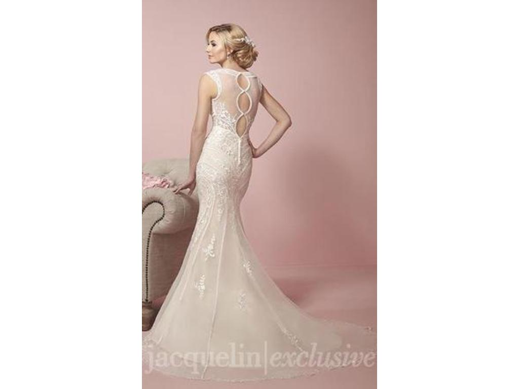 Jacquelin Exclusive 19058 600 Size 10 Used Wedding