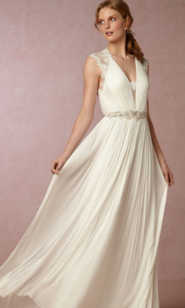 BHLDN Fantasia gown  8