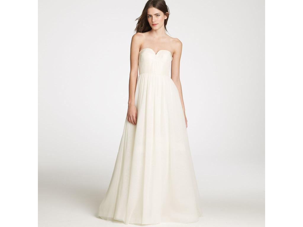 J crew wedding dresses for sale preowned wedding dresses j crew tulipe bustier gown ombrellifo Images