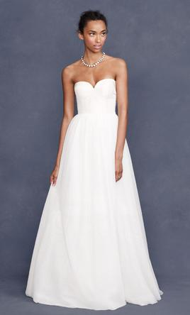 J. Crew Tulipe bustier gown, $550 Size: 12 | New (Un-Altered ...