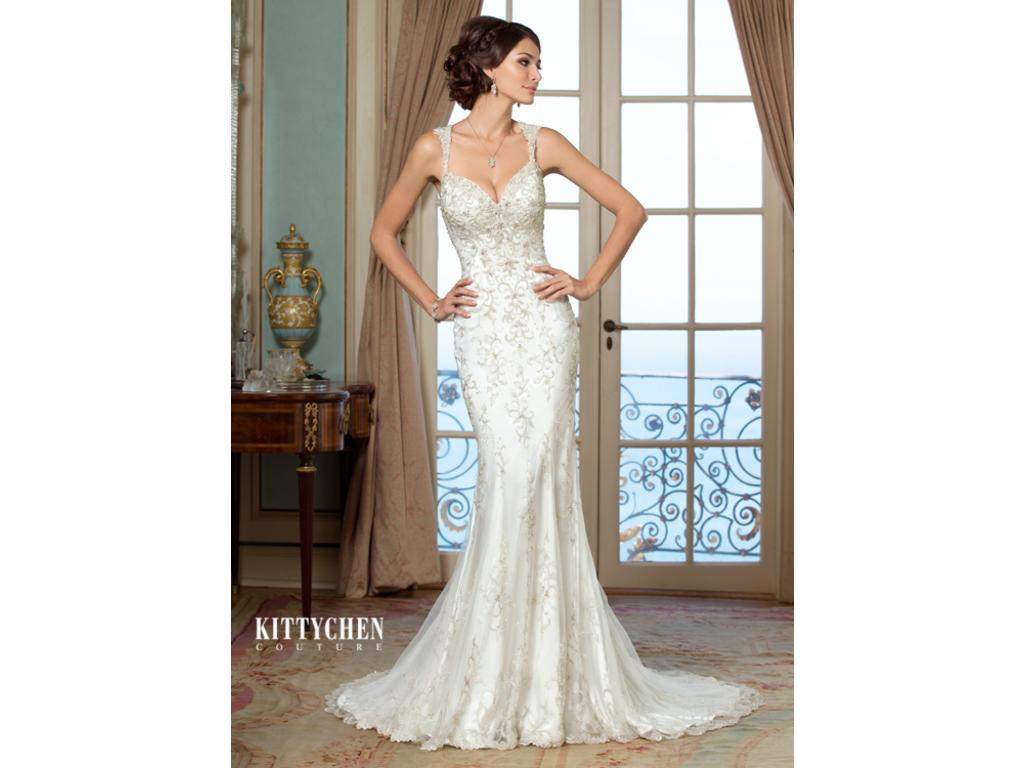 Kitty Chen Evelyn , $750 Size: 6 | Used Wedding Dresses