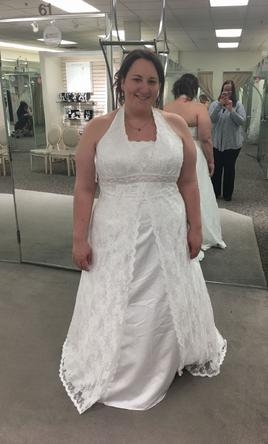 Search used wedding dresses preowned wedding gowns for sale for Plus size spanx for wedding dress