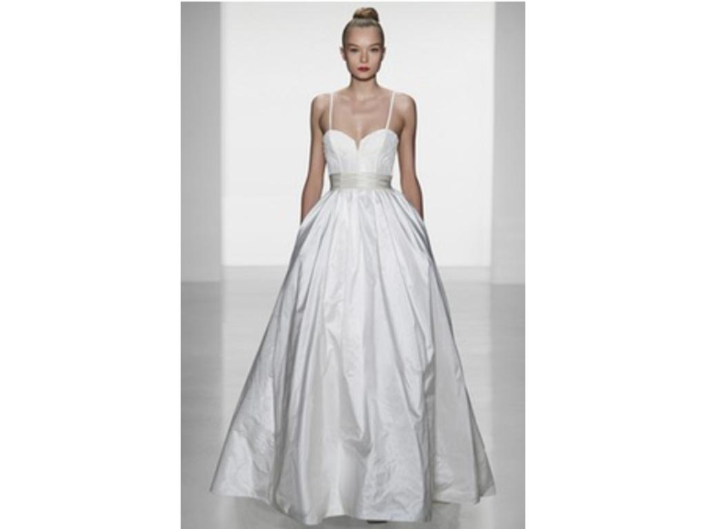 Amsale cameron 2 200 size 6 used wedding dresses for Used amsale wedding dress