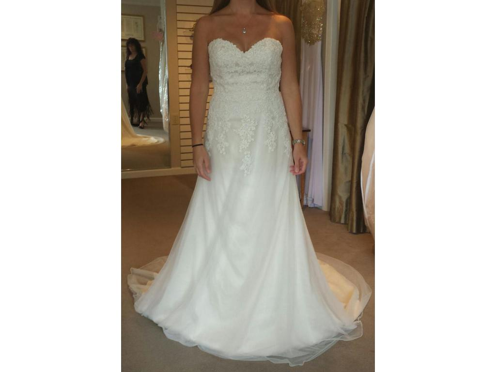 Other sweetheart 6130 375 size 10 new un altered for Once owned wedding dresses