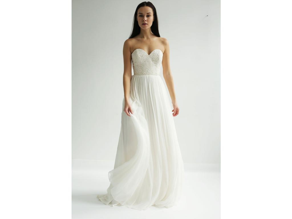 Leanne Marshall Sample 875 Size 8 New Un Altered Wedding Dresses
