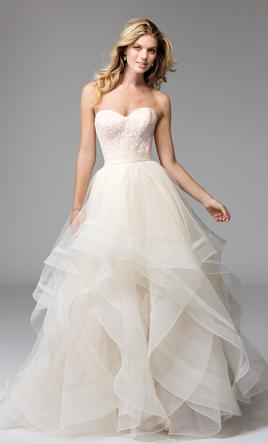 d11ee2bf6466 Watters 1695 Effie skirt & 1512 majorie corset top Wedding Dress ...