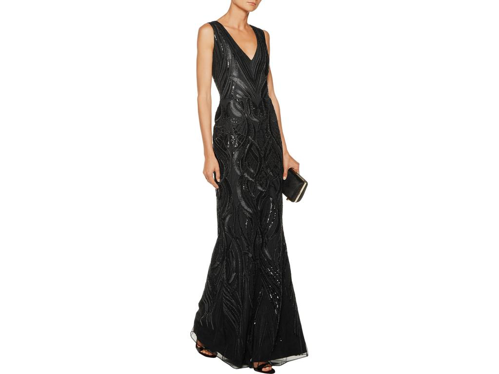 Marchesa Marchesa Notte Embellished Tulle Gown, Size: 6 | Mother of ...