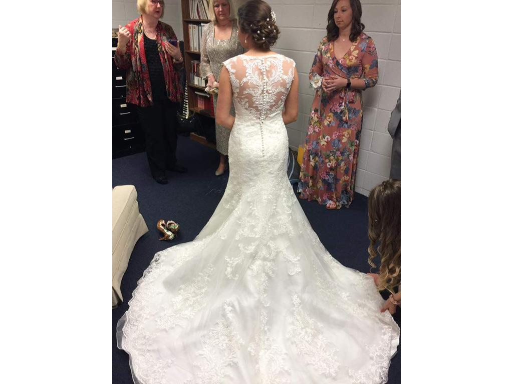 Maggie Sottero Mercedes Marie Wedding Dress | Used, Size ...