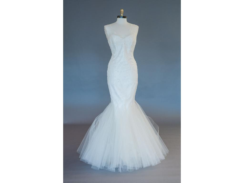 Romona Keveza RK577, $2,340 Size: 10 | Sample Wedding Dresses