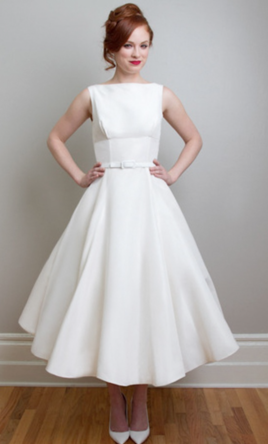 Tea length wedding dresses preowned wedding dresses for T length wedding dresses