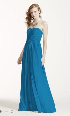 David's Bridal Versa Convertible Long Mesh Dress: F15782 6