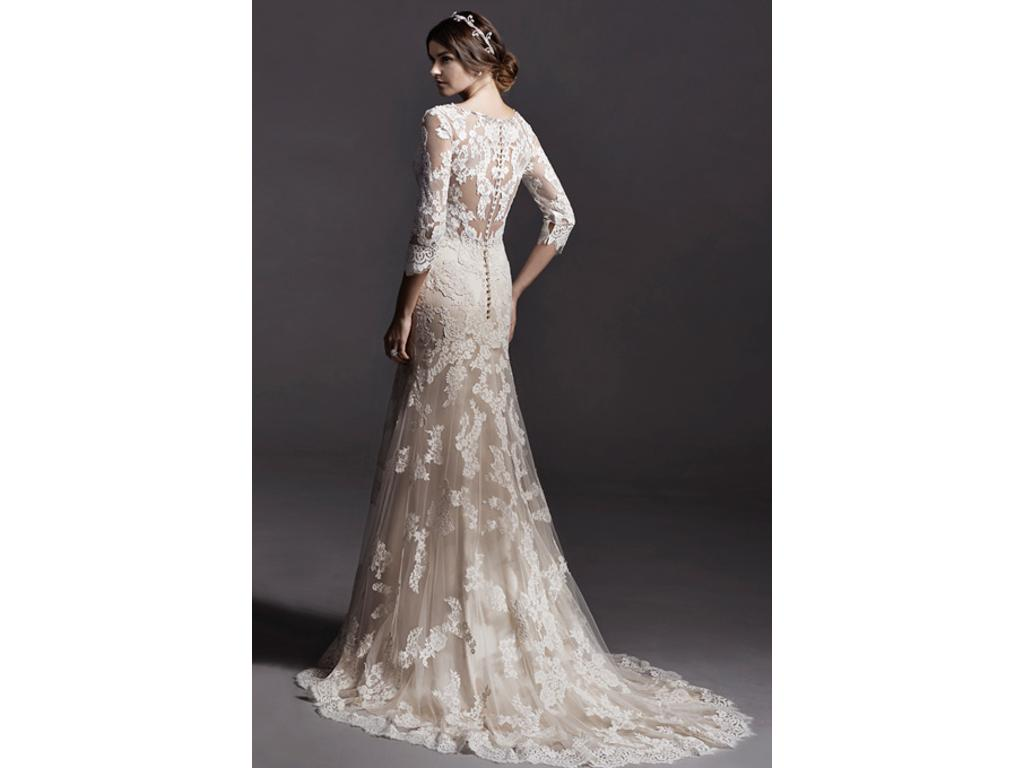 Wedding Dresses For Over 55 : Midgley annora wedding dress currently for sale at off retail