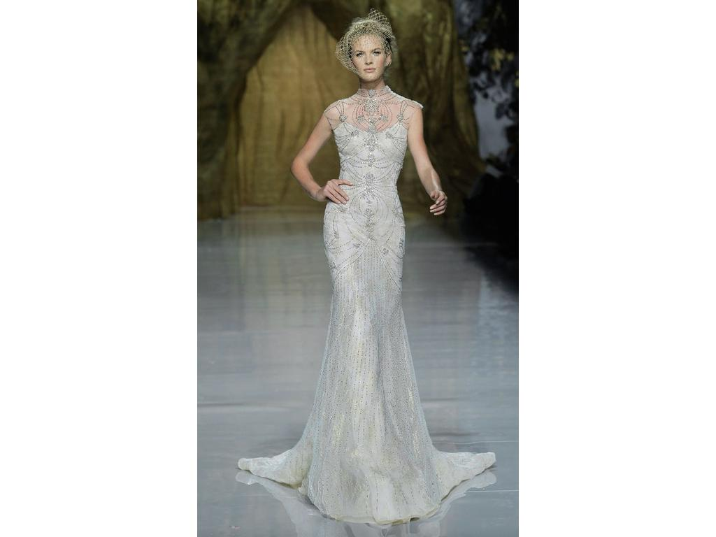 Pronovias Yalim, $6,999 Size: 10 | Sample Wedding Dresses