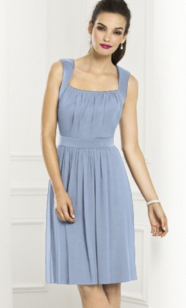 After Six 6670 / After Six 6670 Short Lux Chiffon Bridesmaid 10