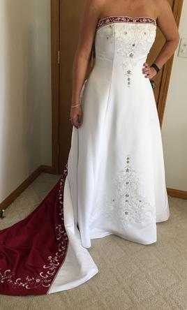 29b096296f30 Alfred Angelo 1516 Wedding Dress | New (Un-Altered), Size: 16, $450