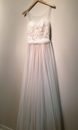 Bhldn penelope gown 680 size 00 used wedding dresses for Bhldn used wedding dresses