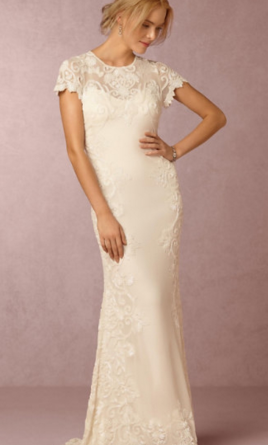 Bhldn jade gown style 39007893 600 size 16 new un for Sell wedding dress san diego