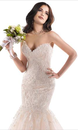Maggie Sottero Marianne 3MS763, $1,000 Size: 12 | Sample Wedding ...