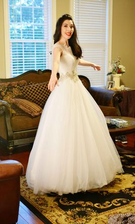 236c6e4c25354 Pin it · Allure Bridals 9022