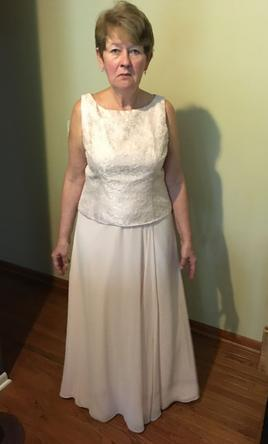 e6c0f7695742 David's Bridal F21582 Mother of the Bride Dress | Used, Size: 14, $40