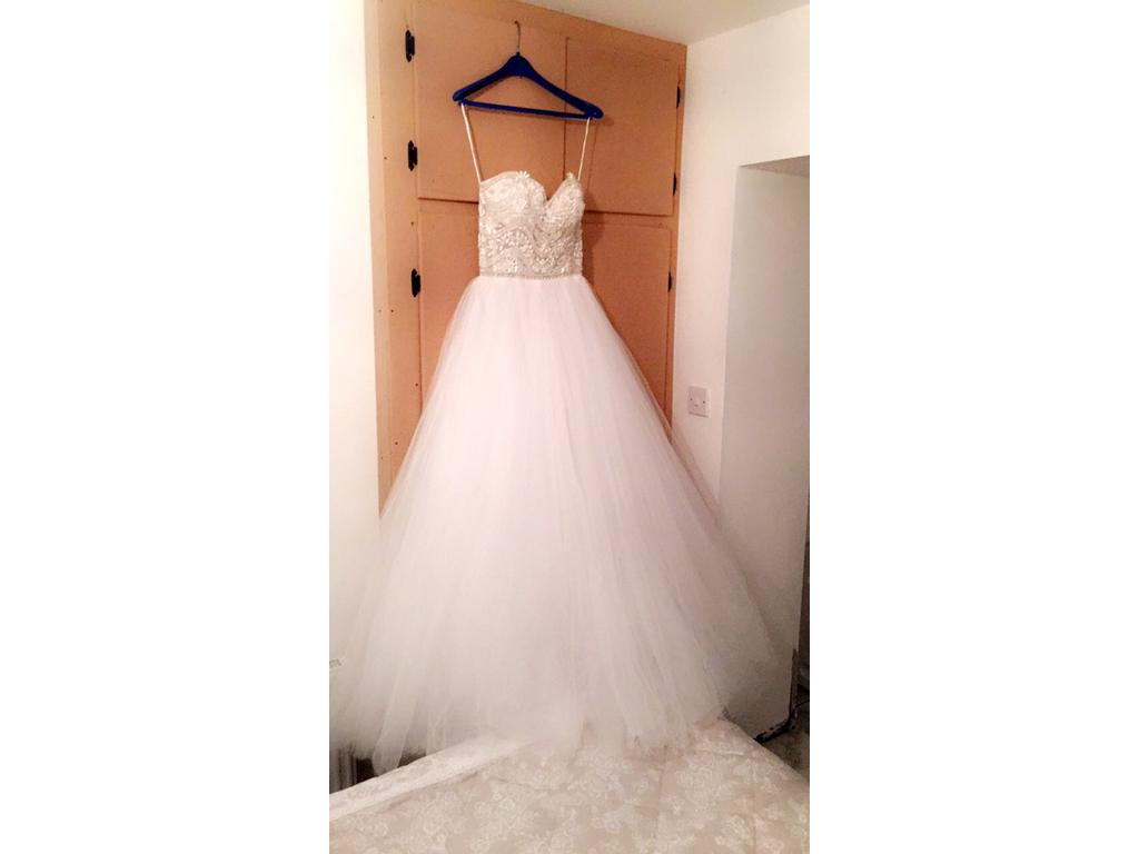 Eve of milady 1508 2 950 size 8 used wedding dresses for Sell wedding dress san diego