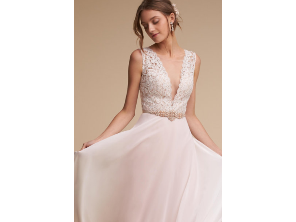 Bhldn taryn gown 600 size 8 used wedding dresses for Bhldn used wedding dresses