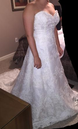 Alfred Angelo 801 200 Size 10