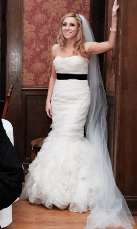 Vera Wang Gemma, $1,799 Size: 12 | Used Wedding Dresses