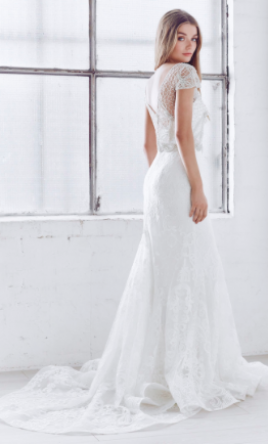 Anna campbell vienna trumpet 2 000 size 8 sample for Anna campbell wedding dress for sale