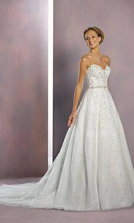 Alfred Angelo Cinderella Style 262, $800 Size: 20W | New (Un-Altered ...