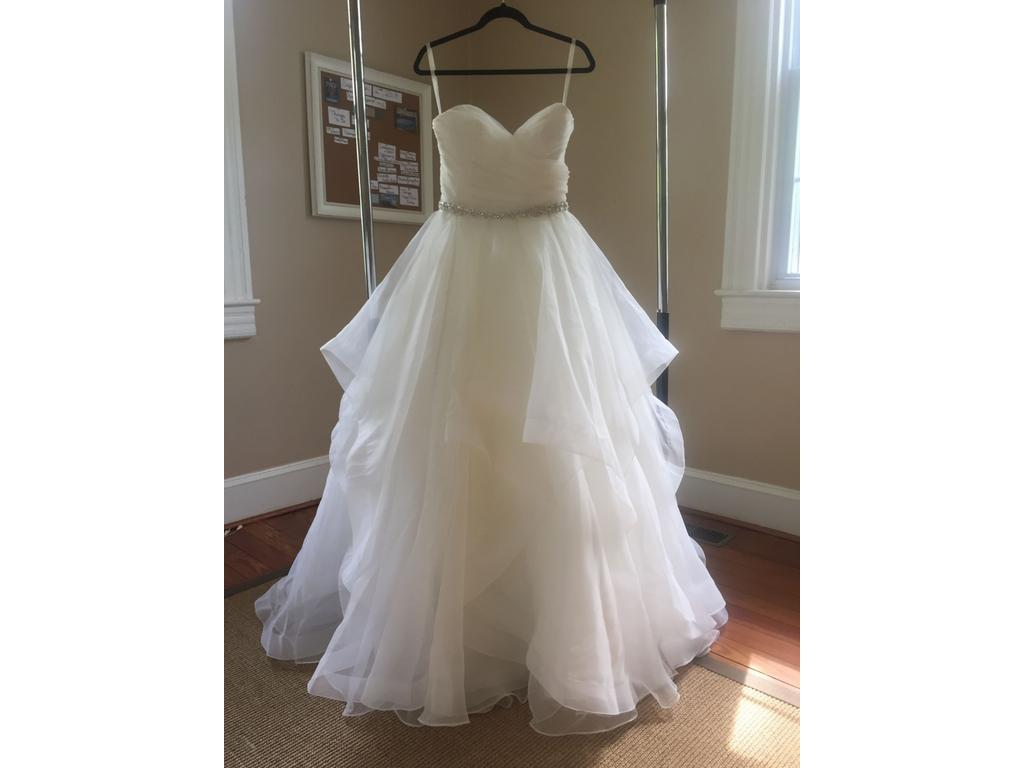 Preowned Wedding Dresses Dallas : Wedding dress  size new un altered dresses