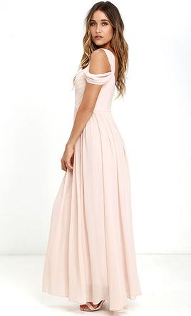 Other Lulus/ MAKE ME MOVE BLUSH PINK MAXI DRESS, Size: 4 ...