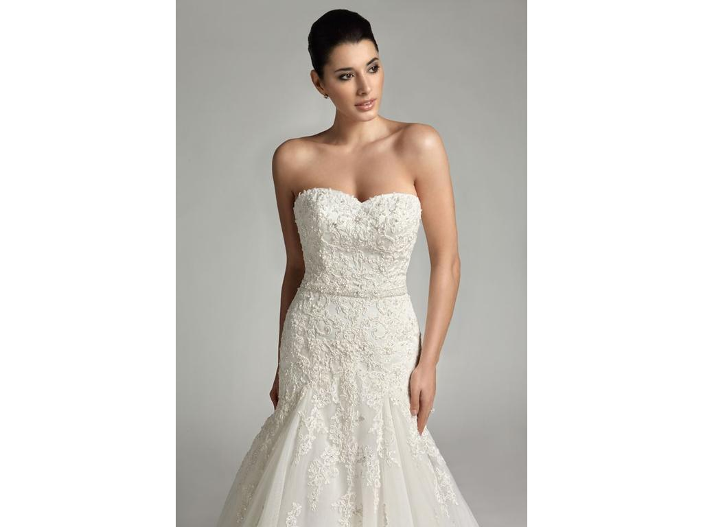 Other 2161 399 size 2 new un altered wedding dresses for Pre used wedding dresses