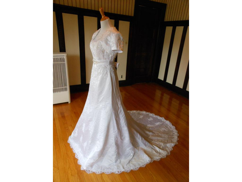 Mary 39 S Bridal 6202 249 Size 16 New Un Altered