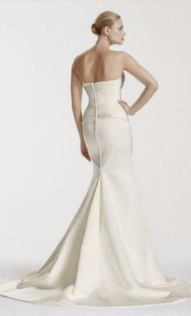 Zac posen truly zp341564 495 size 8 new un altered for Zac posen wedding dresses sale