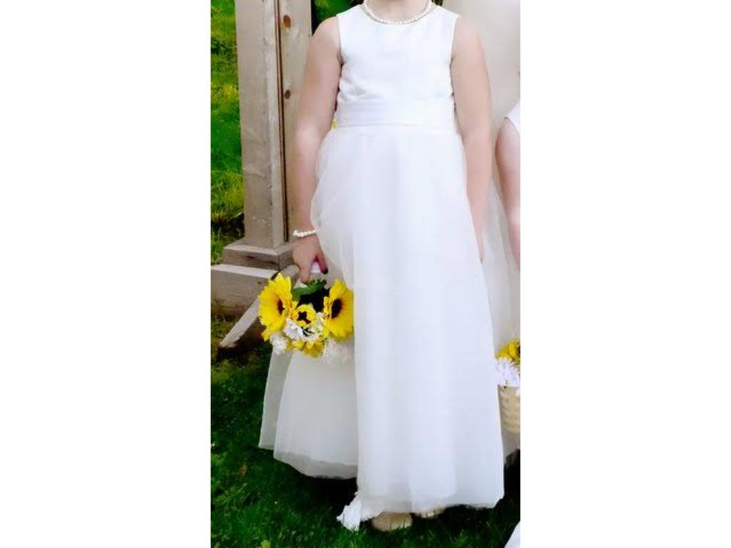 David 39 s bridal s1038 size 0 flower girl dresses for Davidsbridal com wedding dresses