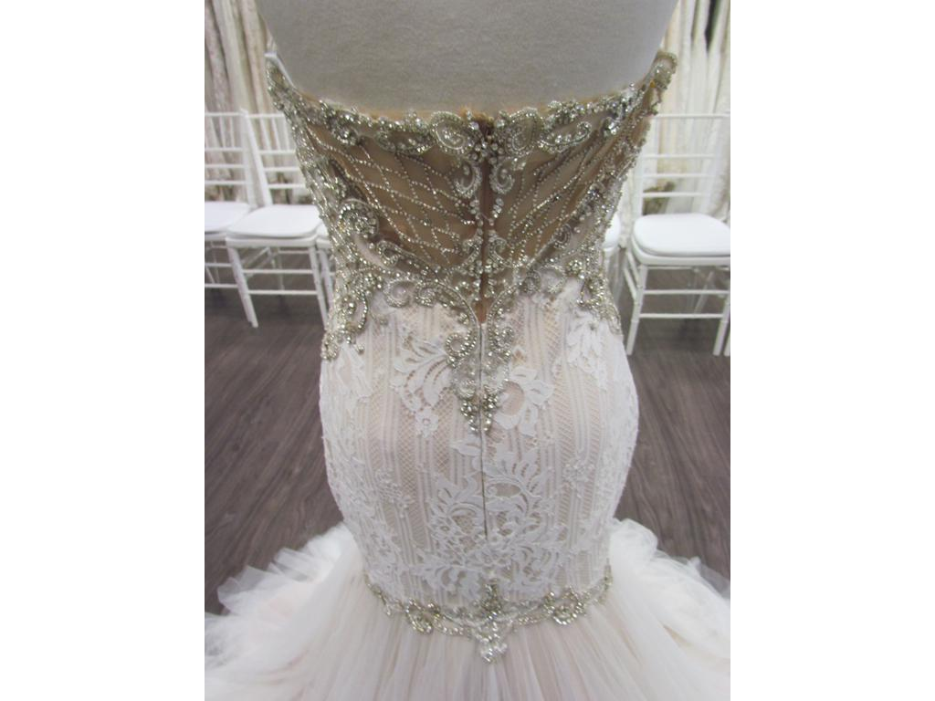 Wedding Dresses For Over 55 : Lucci iris wedding dress currently for sale at off retail