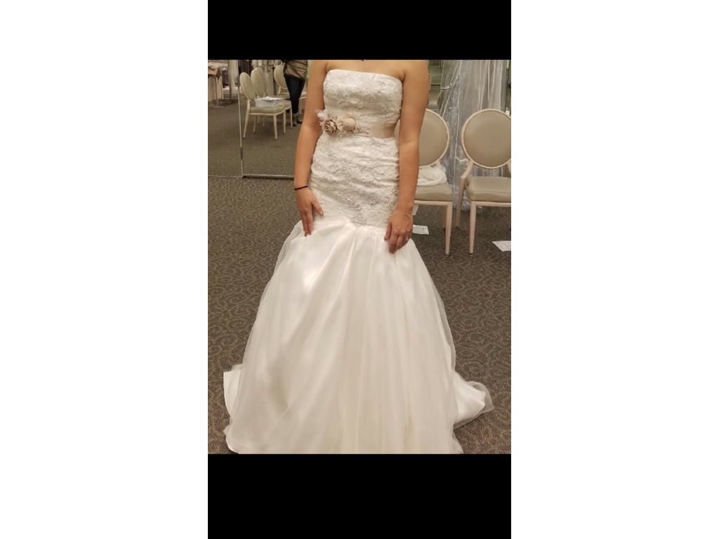 Vera wang 1 000 size 8 new altered wedding dresses for Vera wang wedding dress for sale