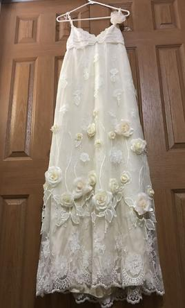 Claire pettibone juliet 1 190 size 10 used wedding for Claires toulouse