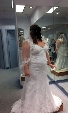 Alfred Angelo 8551W 18