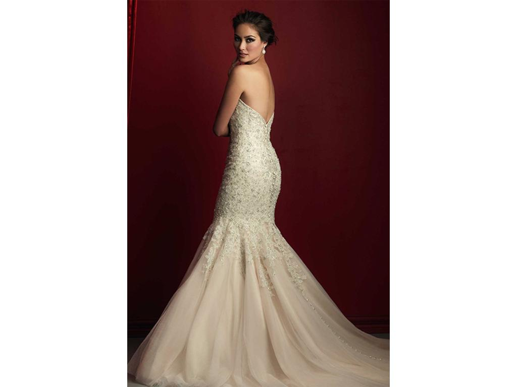 Allure bridals c363 1 600 size 20 used wedding dresses for Previously worn wedding dresses for sale