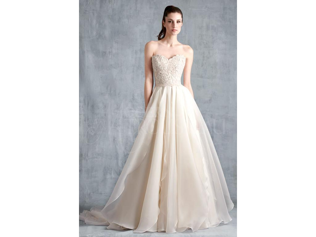 Modern Trousseau Fawn, $2,600 Size: 12 | Sample Wedding Dresses