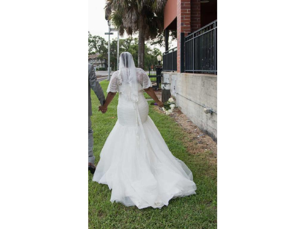 Mori lee 3176 500 size 20w used wedding dresses for Wedding dresses for 500 or less