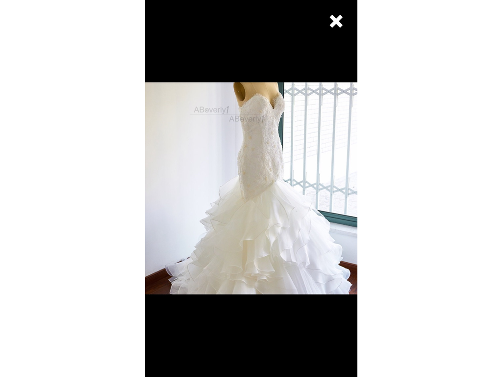 Other custom made 300 size 10 used wedding dresses for Have wedding dress made