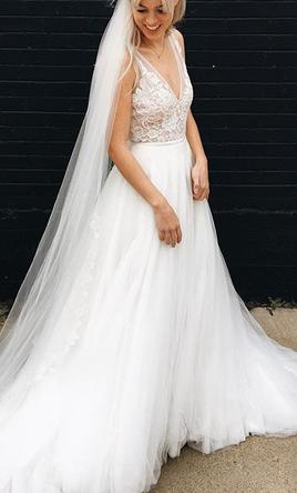 Made with love willow 1 190 size 2 new un altered for Made with love wedding dresses